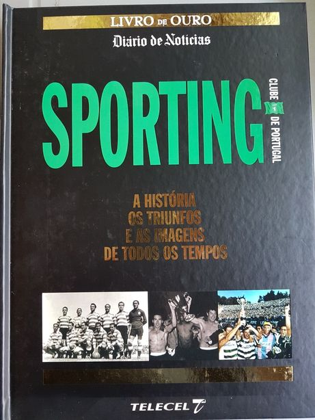 Livro sobre as glórias do S.C.portugal