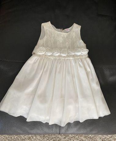 Нарядное платье на малышку 12-18 мес