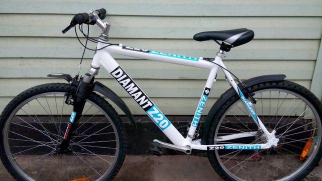 Наклейки на раму велосипеда diamant