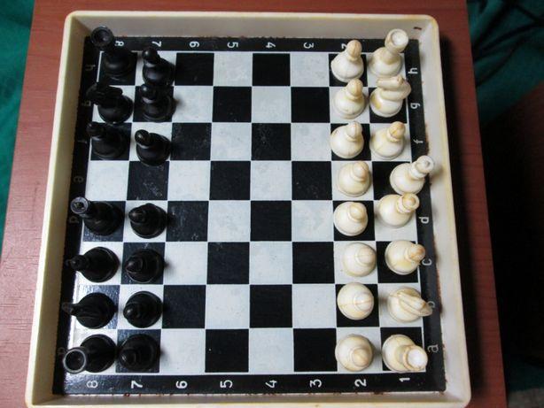 Шахматы дорожные CCCР, магнитные