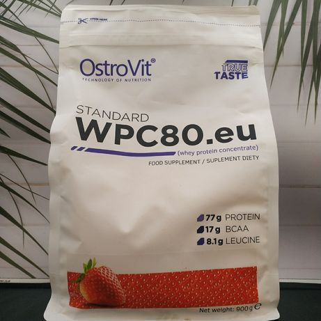 Протеин OstroVit WPC80.eu 900g wpc ксб 65 80 лучше биос гадяч protein