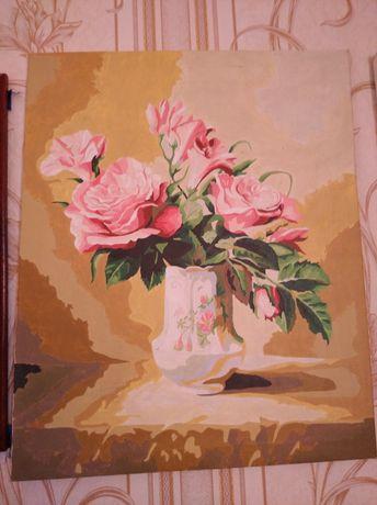Картина красками