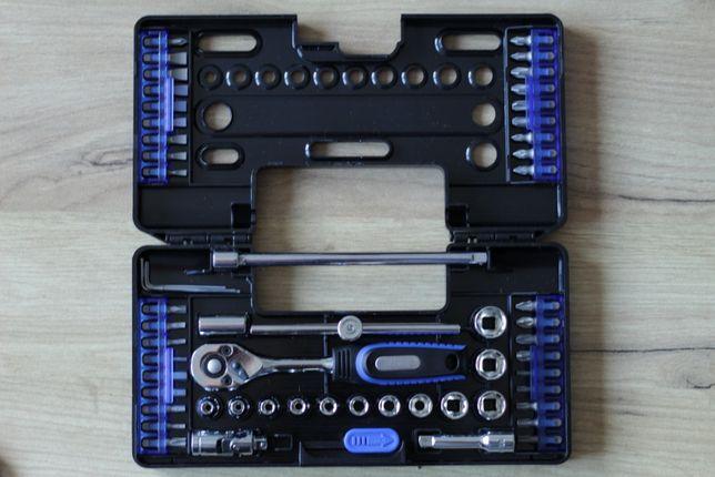 Nowy zestaw kluczy grzechotka 1/4 Westfalia narzędzia niemieckie 57el