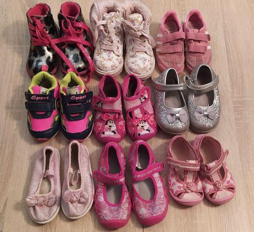 Buty dla dziewczynki różne rozmiary 23-25 Adidas Befado CCC Zimowe