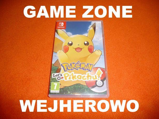 Pokemon Let's Go Pikachu Nintendo SWITCH = Wejherowo SKLEP