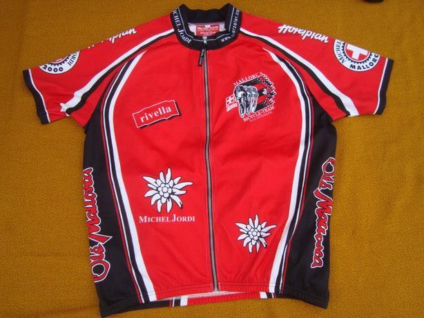 koszulka kolarska /rowerowa Michael Jordi XL-szwajcaria Super