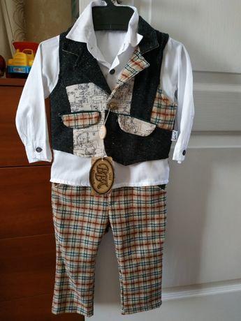 Новый нарядный костюмчик для мальчика на год