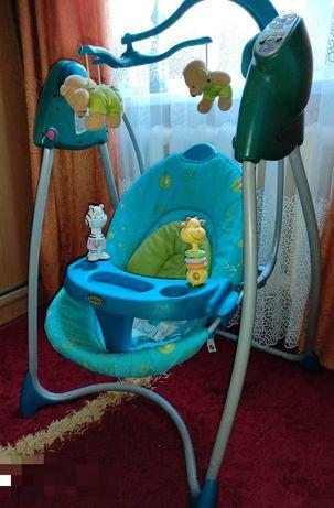 Гойдалка, крісло для годування, шезлонг, мобіль, іграшки
