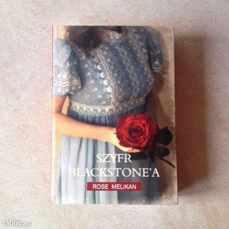 Książka Szyfr Blackstone'a - Rose Melikan, stan idealny!