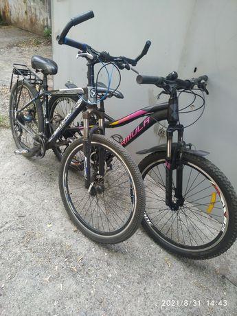 Велосипед 27.5*18(4200) и 26*16(3400) рама алюм
