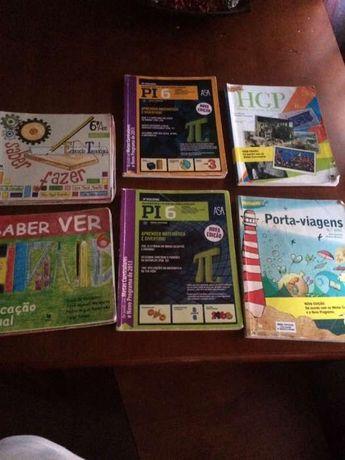 Livros escolares usados 6 ano