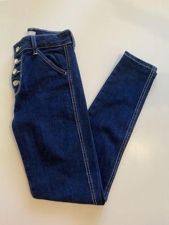 Calças skiny jeans da bershka