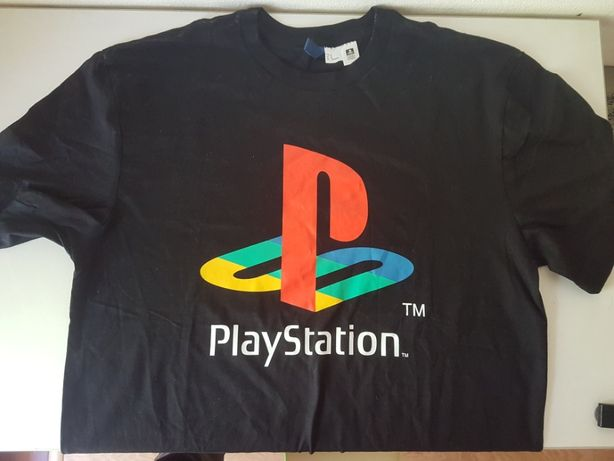 T-Shirt Sony Playstation | Oficial | Tamanho M