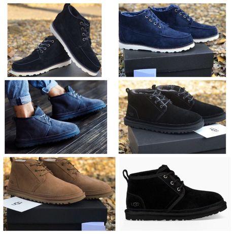 Мужские зимние ботинки с мехом ugg оригинал
