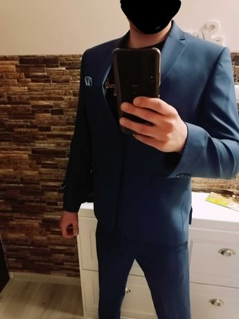 Elegancki Garnitur Slim Fit