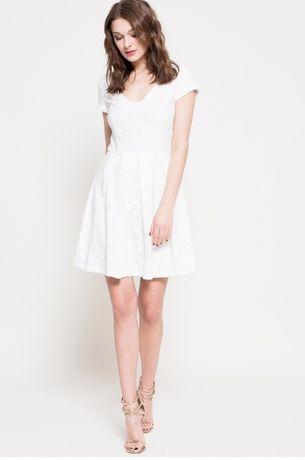 Kiss My Dress Sukienka biała S 36