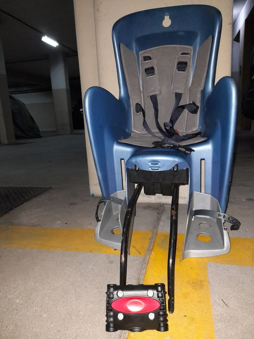 Cadeira de criança para bicicleta S. João Da Madeira - imagem 1