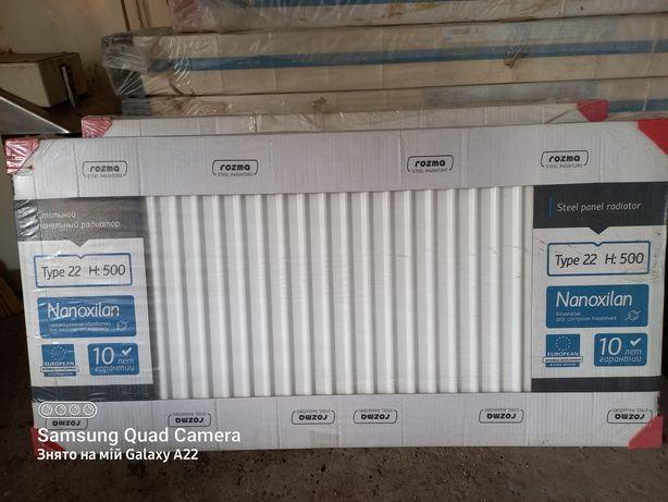 Радиатор сталь Rozma Type 22, H 500×400, 900, 1000, 1100, 1200, 1400