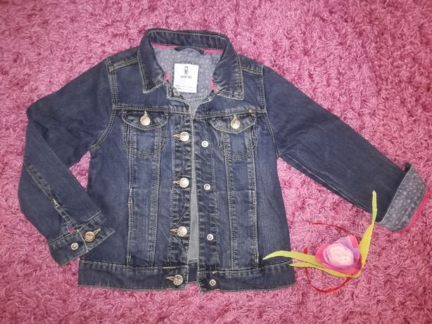 Курточка джинсова для дівчинки Zara, next, George, h&m