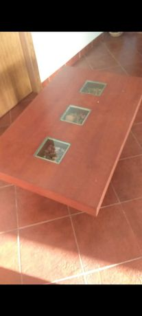 Mesa centro de sala , madeira maciça
