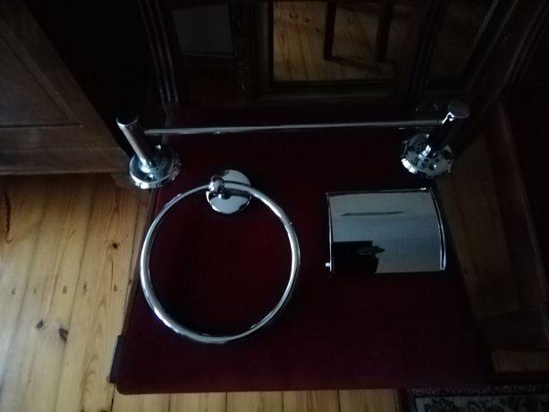 Uchwyt na ręcznik uchwyt na papier toaletowy akcesoria łazienkowe