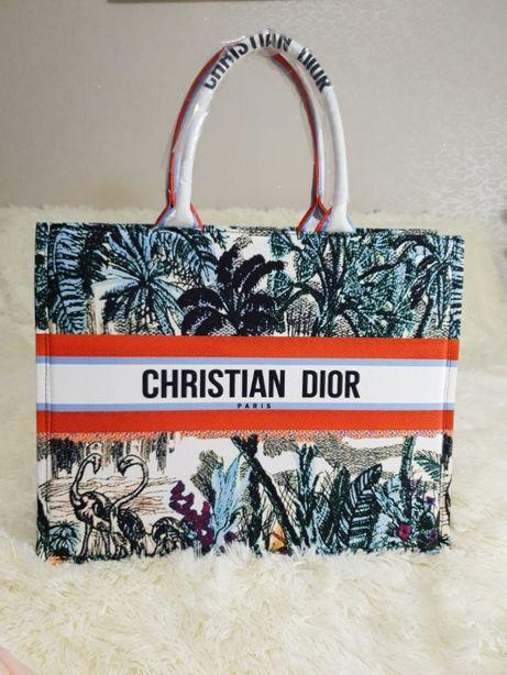 Женская сумка Christian Dior шоппер кристиан диор , Tote book