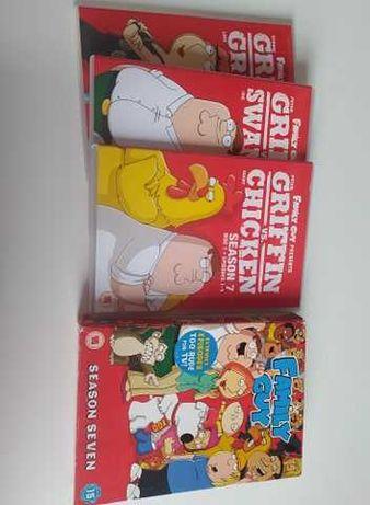 Sezon 7 Family Guy głowa rodziny sezon serial w języku angielskim