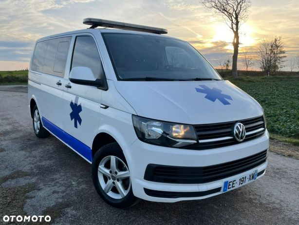 Volkswagen T6 Ambulans  TOP STAN / tempomat / automat DSG / wyposażony / karetka / zamiana
