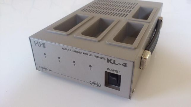 Ładowarka akumulatorów do kamer Li-Ion KL-4 IDX