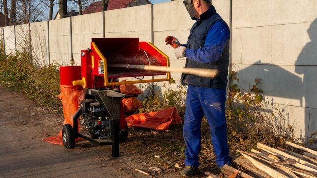 Rębak spalinowy 15KM do ciecia gałęzi POLSKI PRODUKT RS-100 model2021