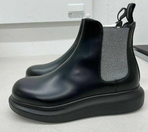 ALEXANDER MCQUEEN Италия 38 Новые сапоги ботинки 100% оригин кожа $650