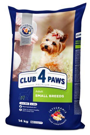 Karma Club 4 Paws Adult Small Breeds - dla małych ras 14 kg