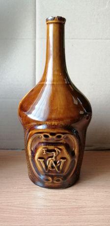 Mirostowice stara karafka ceramiczna unikat