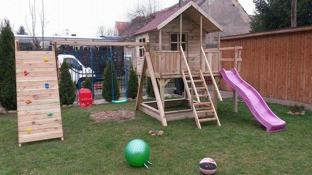 Wyprzedaż letnia!!Drewniany plac zabaw JULIA z piaskownicą!