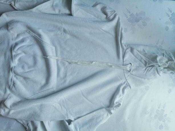 Biała letnia bluza