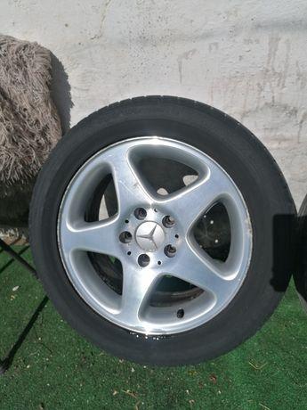 Jantes 16 mercedes 5x112 com pneus