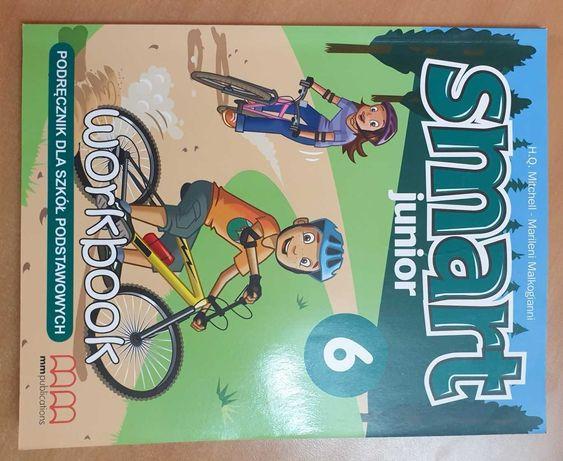 Smart Junior 6, podręcznik, zeszyt ćwiczeń + CD, NOWE