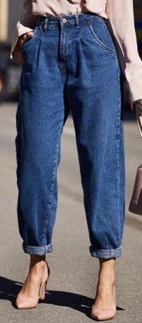 Szerokie spodnie boyfriend ZARA
