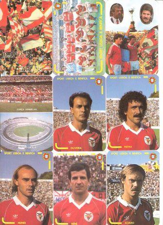 """Calendários #3 """"Benfica o Maior 1986"""" e Lote Variado Benfica"""