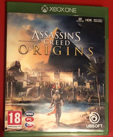 Assassin Origins, xbox one