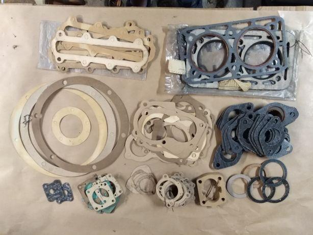 Syrena fabrycznie nowe uszczelki kolektor, głowica, gaźnik, skrzynia