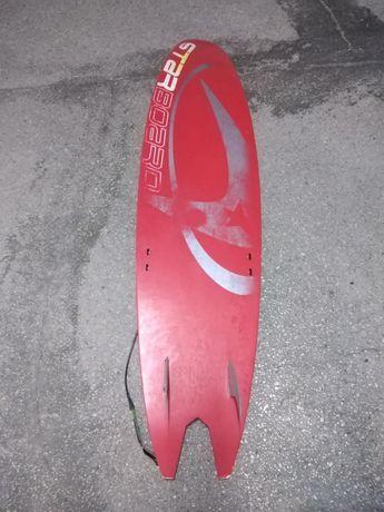 Prancha kitesurf estilo surf