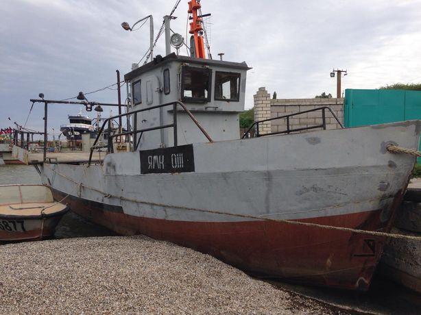Продам филюгу , рыболовецкое судно тип ПМБ-40