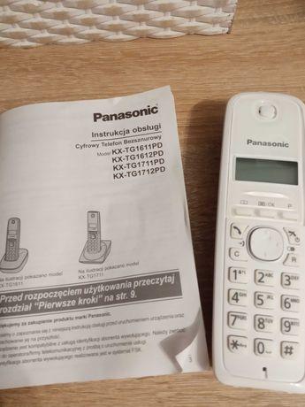 Telefon stacjonarny bezprzewodowy Panasonic KX TG1611PD