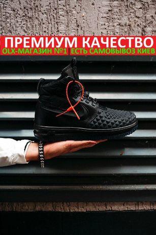 "Кроссовки Nike Lunar Force Duckboot 17 ""Triple Black"" осень/зима"