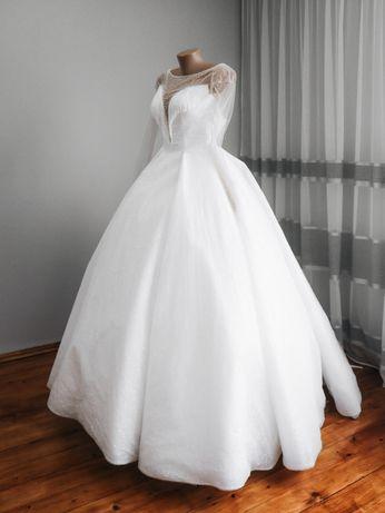 Весільна сукня (колір айворі)
