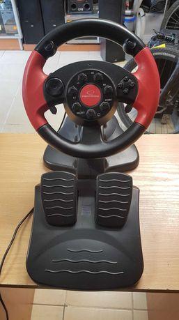 Kierownica z pedałami   PC PSX PS2/3 EG103 ! Lombard Dębica