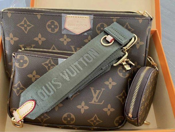 Mala Louis Vuitton Multi Pochette Verde