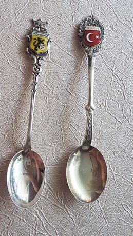 Srebrne łyżeczki próba srebra 800