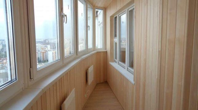 Качественная обшивка и утепление балкона